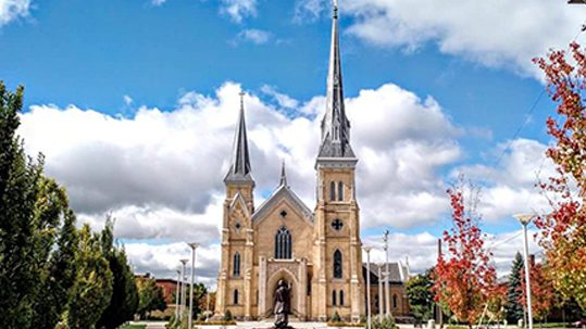 Successful Catholic capital campaign, Cathedral of St. Andrew, Grand Rapids, Michigan